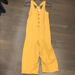 Nordstrom jumpsuit with buttons on front
